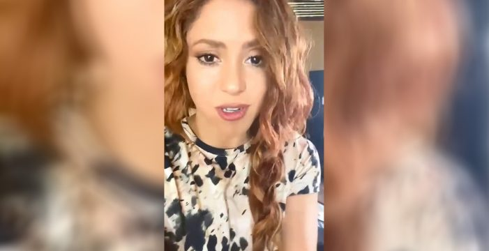 """Así fue el rodaje del videoclip de Shakira en Tenerife: """"Dormí tres horas"""""""