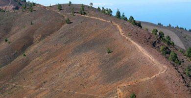 Cierran la red de senderos de varios municipios de La Palma