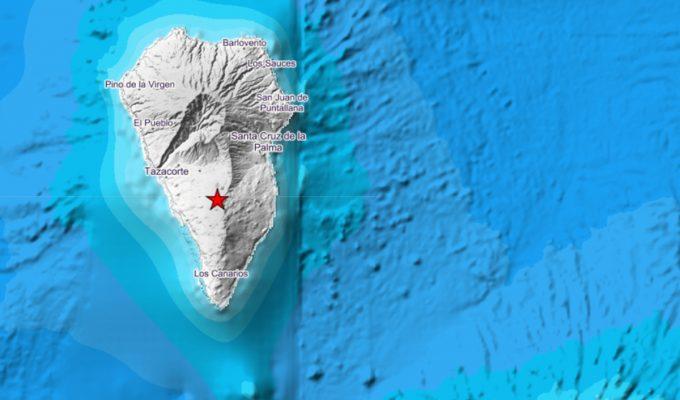 Involcan eleva a 4.2 el terremoto registrado en La Palma, la magnitud máxima observada hasta ahora